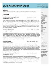 It Resumes Templates by Creative It Resume Exles 2017 Resume Exles 2017