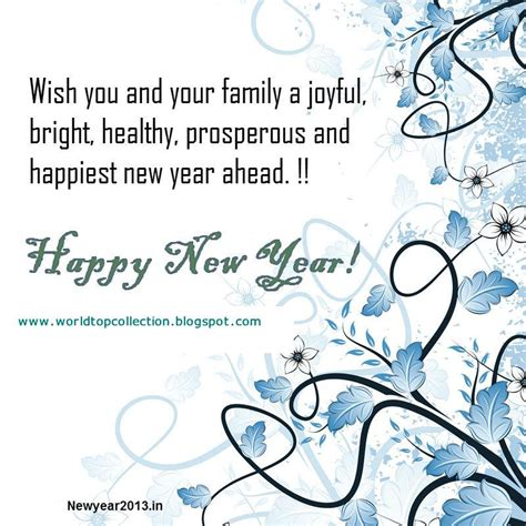 wishing you a happy blessed new year happy new year wishes quotes quotesgram