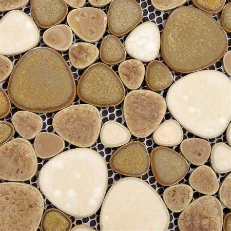 bathroom tile sheets wholesale porcelain pebble tile sheets bathroom wall backsplash collec