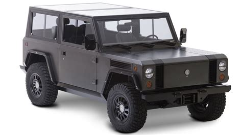 bollinger b1 the bollinger b1 truck takes electric power off road the