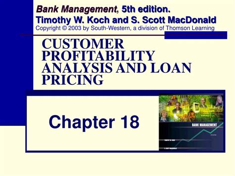 bank customer profitability ppt customer profitability analysis and loan pricing