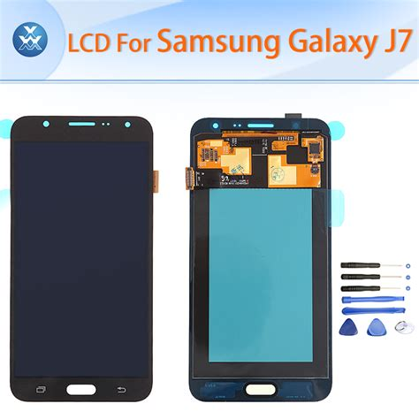 011351 Lcd Touchscreen Samsung J7 Black Org 1 original lcd for samsung galaxy j7 2015 j700 2016 j710 lcd display touch screen digitizer