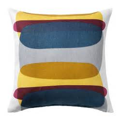 housse coussin jaune malin figur cushion cover ikea