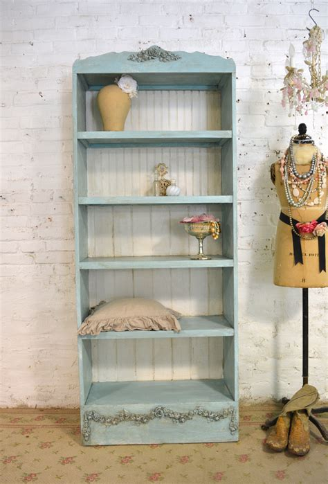 shabby chic white bookcase shabby chic bookcase