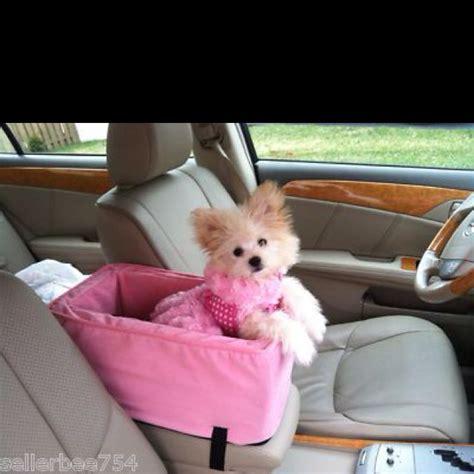 yorkie car seat pink car seat a pet car