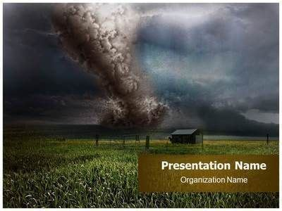 tornado powerpoint template pin by thetemplatewizard on nature powerpoint templates