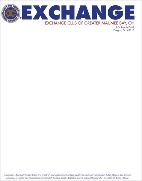 business letterhead with logo pin color letterhead exle on