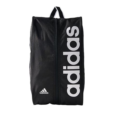 adidas linear performance shoe bag black white ebay