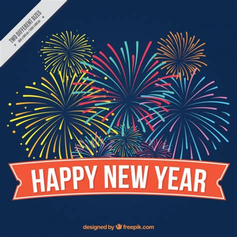 new years style firework vectors photos and psd files free