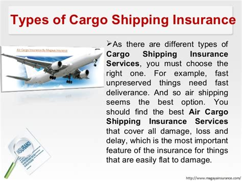 cargo shipping insurance services by magaya insurance service
