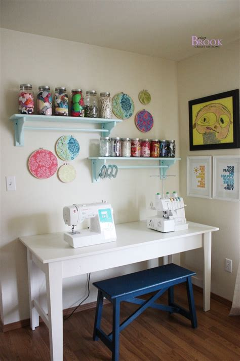 craft and sewing room beingbrook sewing craft room tour furniture