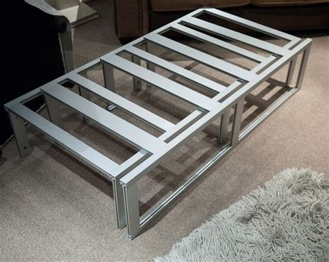 Rv Bed Frame Aluminium Extrusion Telescopic Bed Frame Vw Layouts Vw T5 Beds And Bed Frames