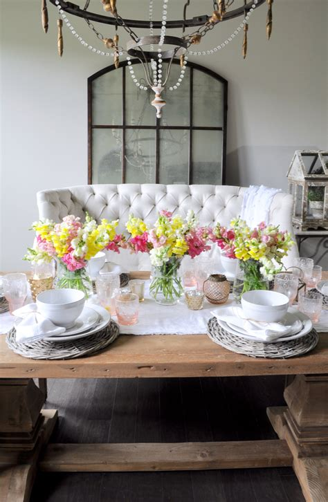 dining room tablescapes a spring tablescape decor gold designs
