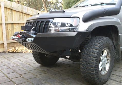 Jeep Wj Winch 99 04 Jeep Grand Wj Front Winch Bumper