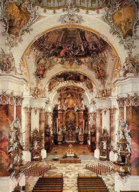 beautiful baroque architecture inside rottenbuch abbey 152 best baroque architecture images on pinterest