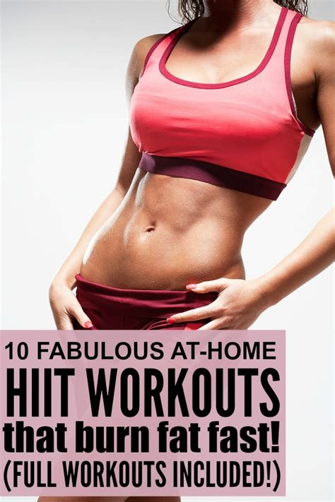 burning hiit workouts for beginners