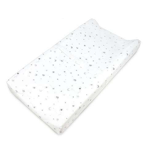 contoured changing table pad amazon com baby s journey deluxe pillowtop changing pad