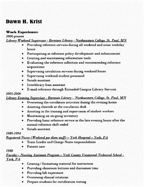 Librarian Resume Objective Exles by Affiliation In Resume S Career Eportfolio Traditional