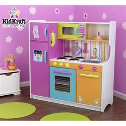 Child S Table And Chair Set Kidkraft Deluxe Big Amp Bright Kids Play Kitchen 53100
