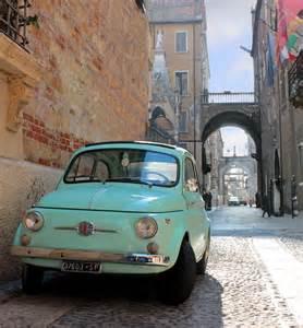 Fiat In Italy Fiat 500 In Verona Italy Italy Verona