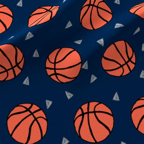 basketball fabric sports basketball themed fabric
