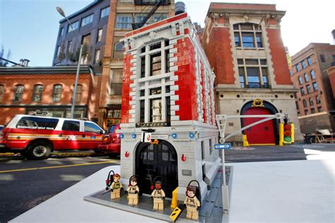 lego ghostbusters house ghostbusters firehouse lego set the coolector