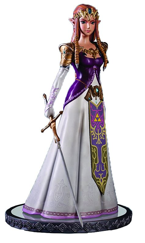 Figure Princess the legend of twilight princess 4 figures