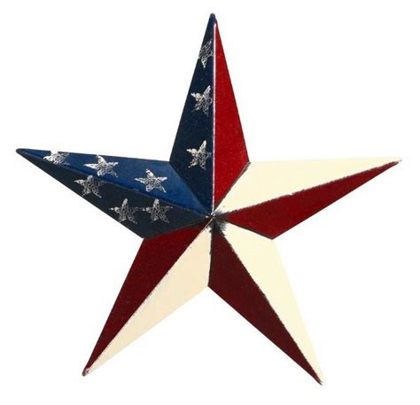 22 Inch Bathroom Vanities Amish 10 Quot Patriotic Painted Barn Star