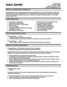 lab assistant pattern click here to download this laboratory technician resume