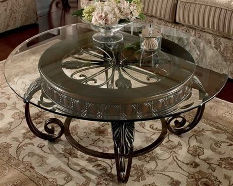 small glass side tables for living room