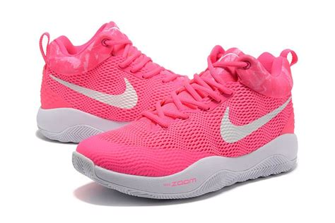 pink breast cancer basketball shoes nike hyperrev 2017 pink white yow breast cancer men s