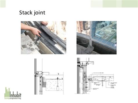 stack joint curtain wall designing and optimising a glass curtain wall facade