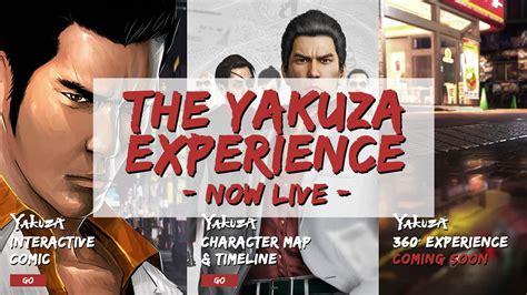 sega launches  yakuza experience website yakuza fan
