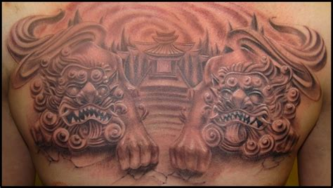 foo dogs tattoo designs 40 ultimate foo designs