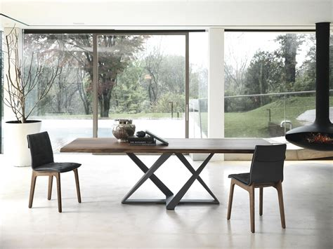 modern excel table design wood dining small designs millennium modern dining table bontempi casa