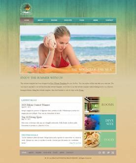 templates for web pages free website templates
