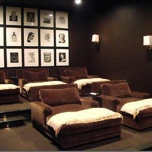 media room chaise lounges 1000 ideas about basement movie room on pinterest cute