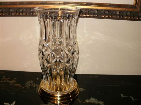 waterford hurricane candle l waterford hurricane l candle holder brass