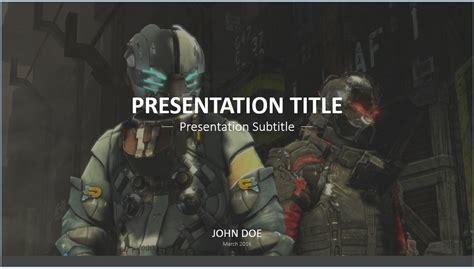 Free Video Game Powerpoint Template 7753 Sagefox Gaming Powerpoint Templates