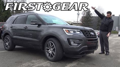 2017 ford explorer review gear 2017 ford explorer sport review and test