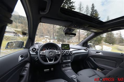 interni mercedes classe b nuova mercedes classe b facelift 2015 la prova su