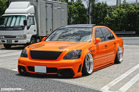 toyota celsior body kit aggressive big body kouji s toyota celsior