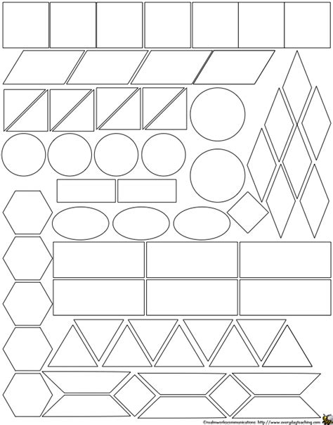 pattern shapes to cut out 4 best images of cut out patterns math printables ab