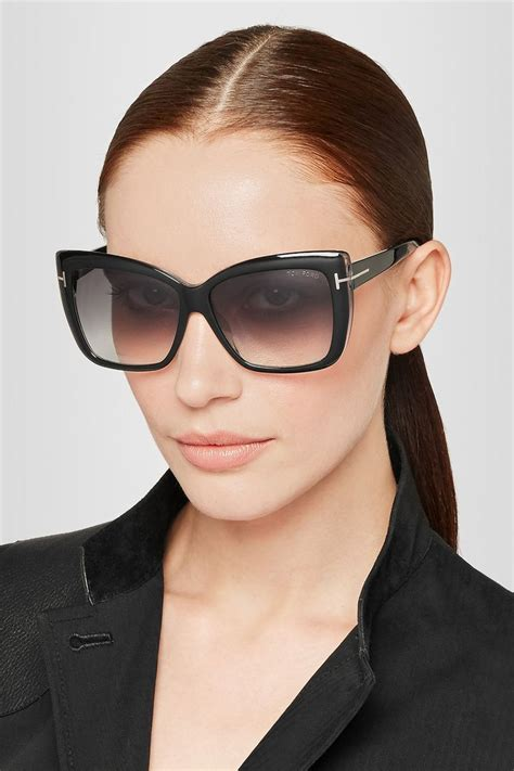 Tom Fordsquare Sunglasses tom ford irina square frame acetate sunglasses net a