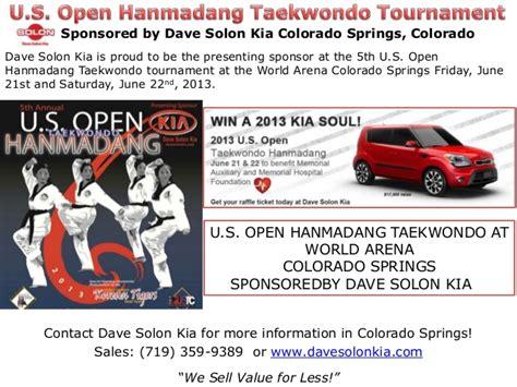 Dave Solon Kia Colorado Springs by U S Open Hanmadang Taekwondo Tournament L Colorado