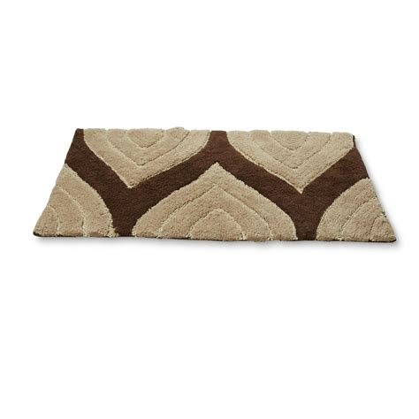 cannon bathroom rugs cannon cotton tufted bath rug chevron striped home