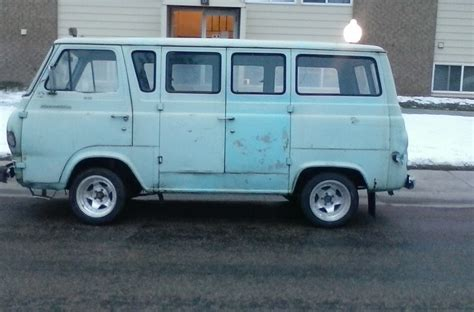 curbside classic 1961 1967 ford econoline the leader of