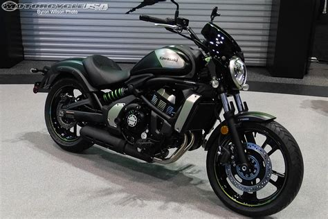 Www Kawasaki by Kawasaki Reveals Vulcan S Abs Cafe At Aimexpo Motorcycle Usa