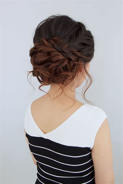 Bridal Hairstyles For Thick Hair by 25 Best Ideas About Wedding Hairstyles On