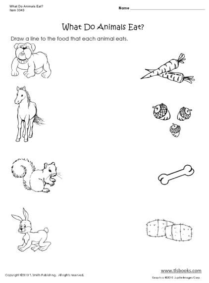 Free Matching Objects Worksheets For Preschoolers The Resources Of Islamic Homeschool In The Uk Animal Worksheets For Preschoolers